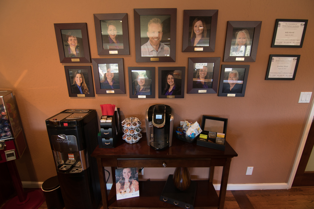 Dentist Jeff Berger makes patients feel at home in his Sonora dental office.
