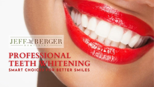 professional teeth whitening gives you a bright smile