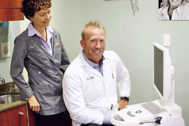 Dr. Jeff Berger uses the best dental technology available for his patients.
